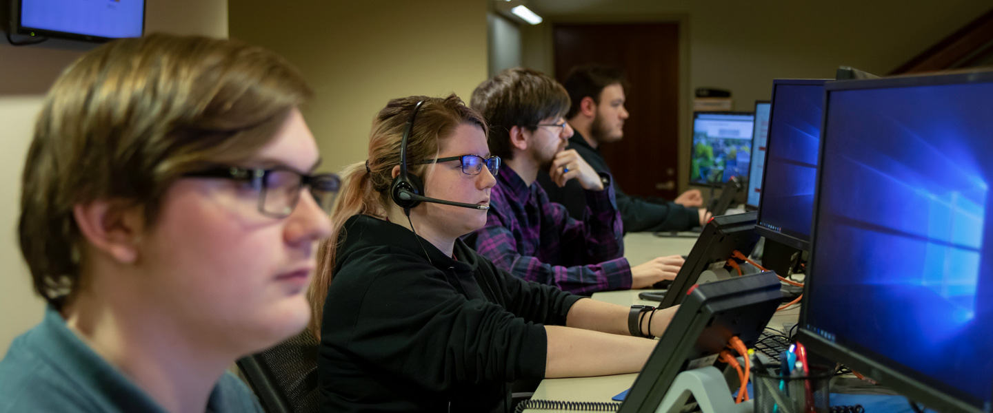 IT helpdesk student workers